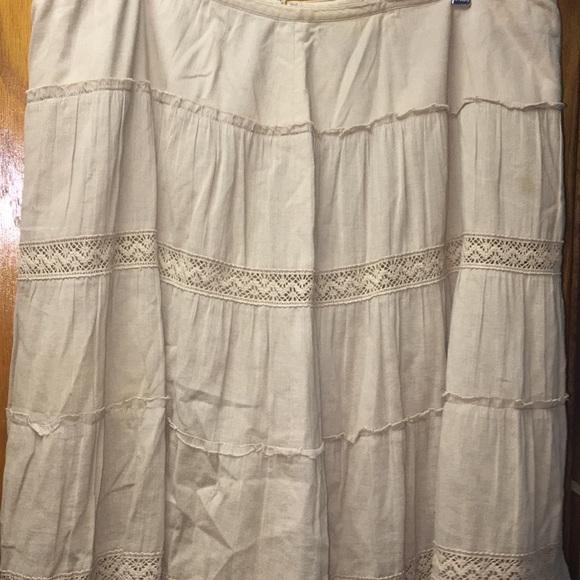 Caslon Dresses & Skirts - Caslon Women's Tan Full Skirt